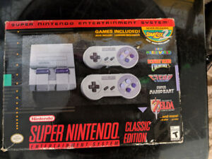 Super Nintendo Classic Edition Entertainment System