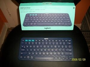 Clavier Logitech K380 Multi-device Bluetooth Bleu