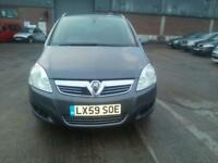 Vauxhall Zafira 1.6i 16v VVT 115ps Design 7 SEATER - 2009 59-REG - 10 MONTHS MOT