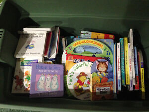 Assortment of book age 0-4
