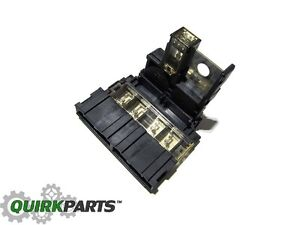 Various 2004-2013 Nissan, Positive Battery Cable Fusible Fuse Link Connector OEM