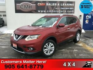 2014 Nissan Rogue SV  FAMILY-TECH 7-PASS NAV BS P/GATE 360-CAM R