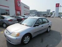 Honda Civic 4dr Sdn DX Manual 2001