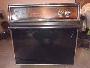 Wall oven and stove top