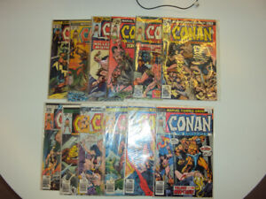 12 'Conan the Barbarian' Comics - #'s 54, 60-70