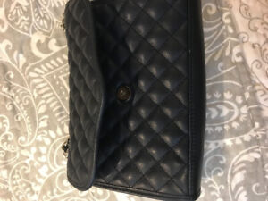 Navy quilted Rebecca minkoff purse
