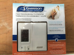 7 Day Programmable Thermostat (Two)
