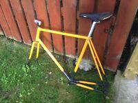 58cm Makino track / fixed gear frame / bike.