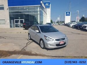 2014 Hyundai Accent Sedan GLS Auto - Sunroof, Trade-in
