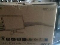 "ACER 18.5"" MONITOR SCREEN brand new boxed"