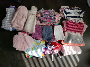 Baby girl clothing 0-12+ months
