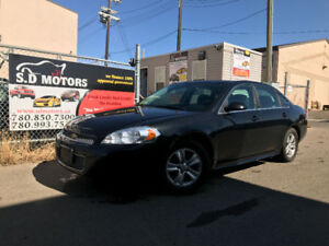 2013 CHEVROLET IMPALA LS HAS 172603 KMS ALLOY WHEELS