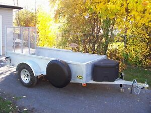 "5x10'2"" hot dipped galvanized trailer. Almost ready to go!"