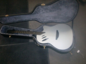 Ovation guitar with MP3 player and recorder mint condition
