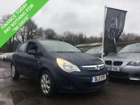 2011 11 VAUXHALL CORSA 1.2 EXCLUSIV A/C 5DR 83 BHP