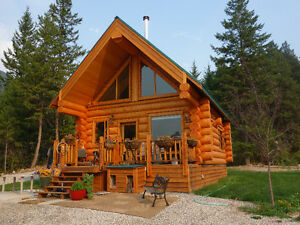 New Log Cabin for rent South of Golden