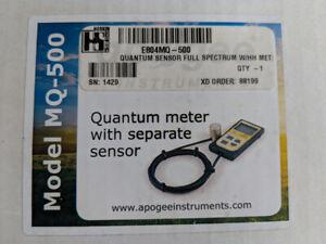 Grow Light Meter (apogee mq-500) for sale