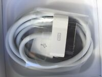 Apple iPhone 30 pins charger cable.