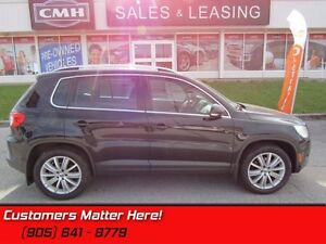2011 Volkswagen Tiguan   AWD, NAV, ROOF, LEATHER, HEATHED-SEAT,