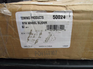 Reese 20K 5th Wheel Round Tube Slider Part No. 50024