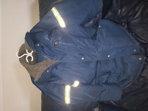 Mens Helly Hansen winter parka with insulated pants