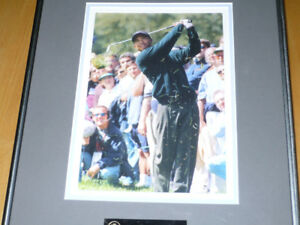 Tiger Woods Framed Photo