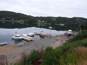 Floating dock births for rent at St Jones Within, Trinity Bay