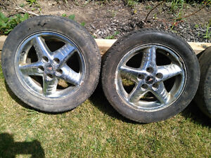 4 Pontiac Grand AM chrome rims London Ontario image 3