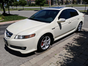 Acura TL dynamic package 6 speed