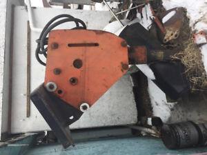 Allied hydraulic jackhammer