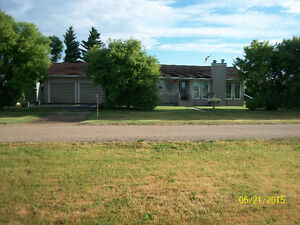 1397 ft bungalow with double attached heated garage for sale