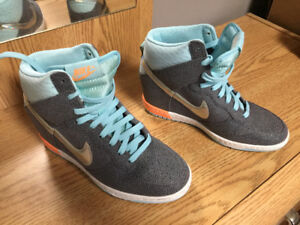 Women's Nike High Top Heels