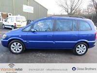 VAUXHALL ZAFIRA BREEZE DTI 16V, Blue, Manual, Diesel, 2005 NEW CLUCH AND FLYWH