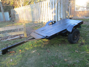 Flat bed Utility Trailer For Sale