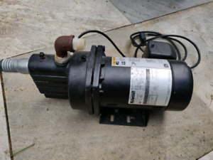 Mastercraft 0.5hp cast iron jet pump (water)