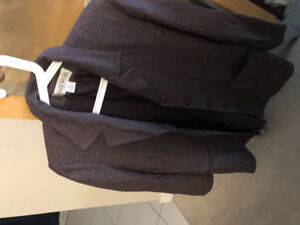 Jones Burgundy lined blazer size 12 long asking $8 see pictures
