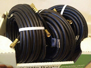 NEW 300ft NATURAL GAS OR PROPANE HOSE with FITTINGS