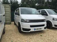 VOLKSWAGEN TRANSPORTER T28 TDI SPORTLINE KIT UPGRADE, White, Manual, Diesel,2013