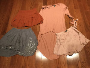 Lot of Forever 21 skirts & dress - Almost All Brand New!