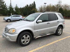 2005 Mercedes-Benz M-Class 3.7L Special Edition SUV, Crossover