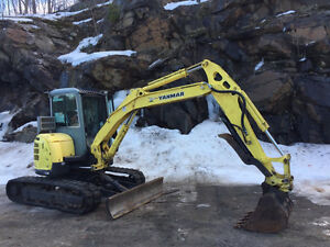 "Yanmar 2007 Vio-55 with Thumb & 30"" Bucket"