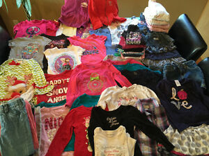 Large lot of girls clothing size 4 Windsor Region Ontario image 1
