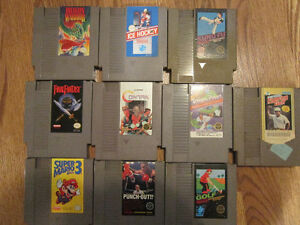 Jeux Nintendo, Contra, Punch Out, Final Fantasy, Mario 3 ...