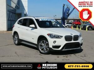 2016 BMW X1 xDrive28i Auto GPS Sunroof Cuir-Chauf Bluetooth