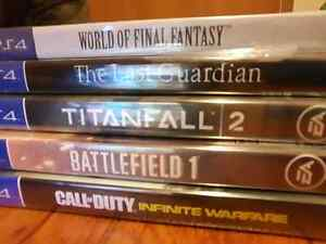 Brand New Released Sealed Games (ps4)