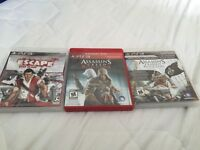3 PS3 games excellent condition!