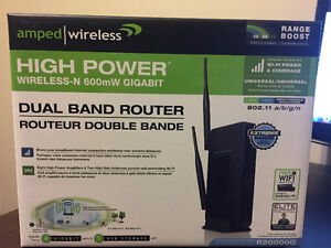 Amped Wireless Router R20000G 300 Mbps 4-Port Gigabit Wireless N