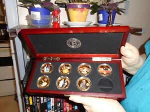 Bradford Exchange - 7 coin Monarchy collection