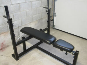 Body Solid Olympic Bench  gym weights exercise