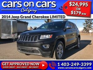 2014 Jeep Grand Cherokee LIMITED w/Leather, SunRoof, BackUp Cam